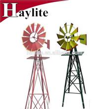 Вертушка металлические украшения ветряная мельница для сада