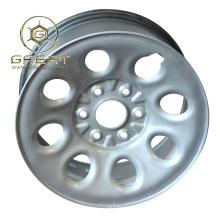 De acero de plata de 17 pulgadas rueda de camión 17X7.5