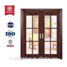 Exporter les portes conçues 20 pouces entrée porte verre porte insert