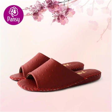 Pansy Comfort Shoes Anti-skidding Sofa Material Indoor Slippers