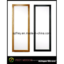 Hot Sale Fashionable Wooden Framed Floor Mirror