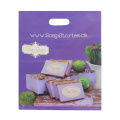 Purple LDPE Die Cut Bag for Food