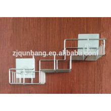 Estante del cuarto de baño del acero inoxidable con el estante del cuarto de baño del metal del lechón