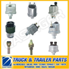 Más de 100 artículos de piezas de camiones para sensor de presión de aceite