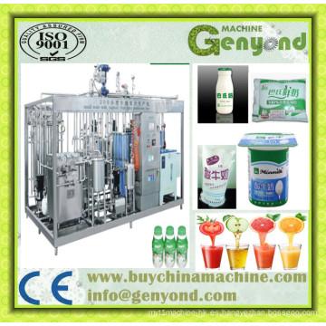 Máquina de Yogur automática completa Línea de procesamiento de yogur