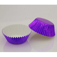Purple foil baking cup