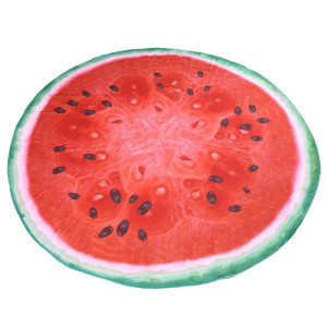 watermelon large beach round towel Beachwear