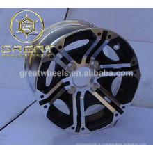 Новый дизайн 12 дюймовый сплав ATV диски для продажи