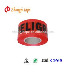 Cinta de barrera de PE no adhesiva de 75mm * 500m