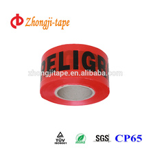 red non adhesive warning tape