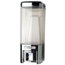 Dispensador elegante del jabón del hotel del plástico de plata 480ml