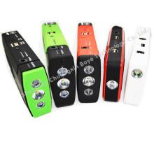 Emergency Car Battery Car Starter Power para coches / celulares / portátiles
