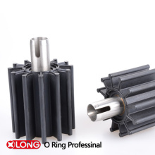 Custom Molded Rubber Seal Used in Vane Steel
