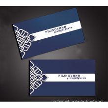 Custom Plastic Transparent Business Visiting Name Card