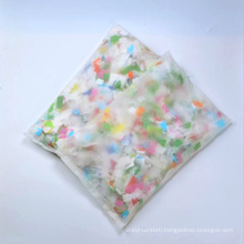 Novelty New Product Confetti pillow with Paper Slip