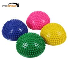ProCircle ПВХ упражнения йоги половина Массаж мяч