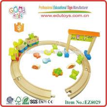 Juguete de madera de los niños - juguete de la granja