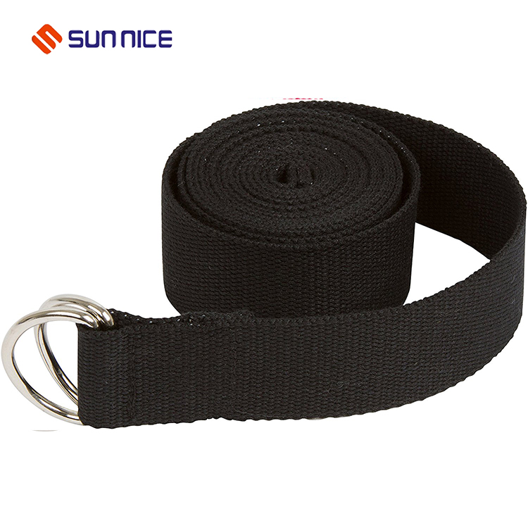 Adjustable yoga strap