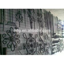 Antirust cast iron fence ornaments, flowers