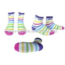 calcetines de colores para calcetines de tennage joven