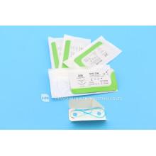 Alta calidad hecha en China Desechable piel grapadora cromos catgut instrumento quirúrgico equipo médico sutura