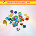 Kids Themed Party Button Popper With Foil Heart