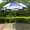 Зонт с наружной зоной для наружной рекламы