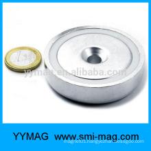 pot magnet magnetic pot countersunk hole