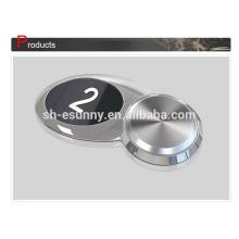 Botón de ascensor led azul venta caliente Super calidad