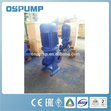 WL upright single-suction sewage submersible pond pump