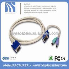 PS / 2 KVM VGA MACHO A MALE CABLE