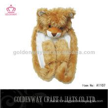 Winter Animal Hat Bear Pattern A1107
