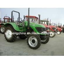 4WD Großer Bauernhof-Rad-Traktor für landwirtschaftliche 70HP 80HP 90HP 100HP 110HP