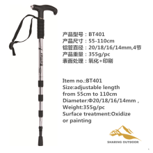 Factory Price for Alpenstock Hiking Poles Trekking Poles with LED light export to Marshall Islands Suppliers