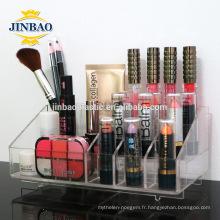 Jinbao Clear Storage Case organisateur personnalisé acrylique bijoux affichage