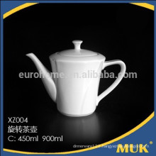 eurohome sales promotionals hotel banque use airline white porcelain ceramic teapot