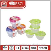 Tamanho pequeno de comida de microondas Container(4pcs) 0,45 L