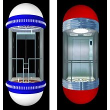 Hot sale round glass panoramic lift