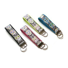 Machine Embroidery Beautiful Wrist Key Fobs