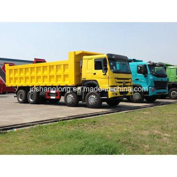 HOWO 12 Wheels Dumper Truck for Angola