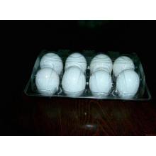Embalaje de plástico de huevo