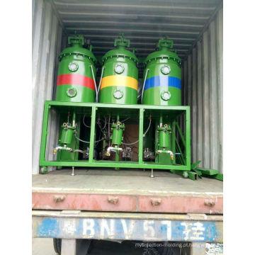 Máquina de formação de espuma de poliuretano (cabeça dupla)