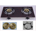 2016 Tempered Glass 2 Burner Tabletop Gas Stove
