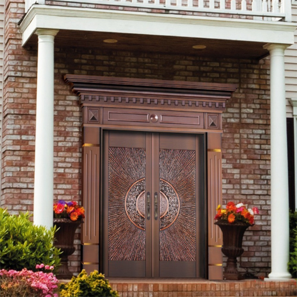 pure copper door 6