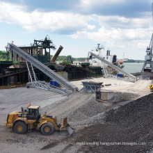 Ship Loading Rubber Belt Conveyer Manufacturer From China