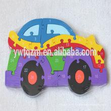 alphabet en bois éducatif iq puzzle toy