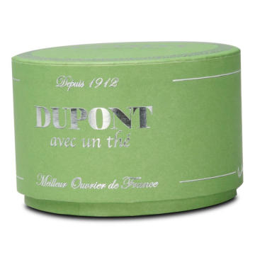 Small Mint Green Round Candle Box