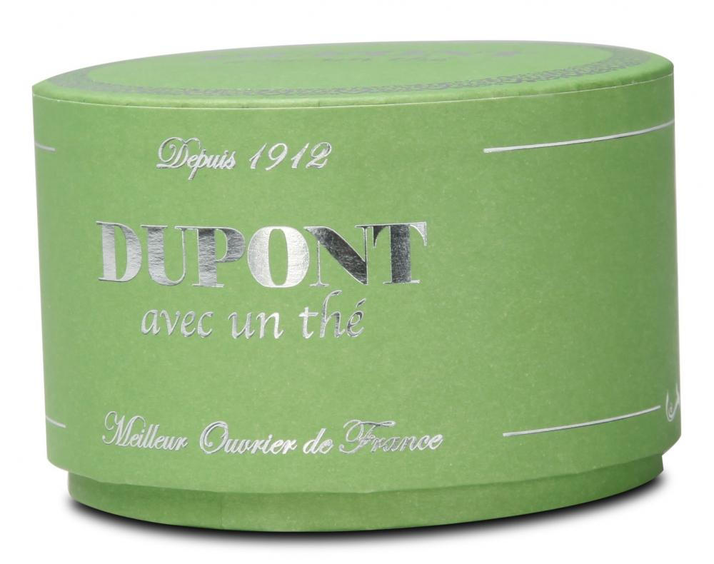 Liten Mint Green Round Candle Box