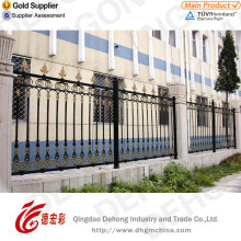New Design Pear Security Wrought Iron Fencing/Wrought Iron Fence