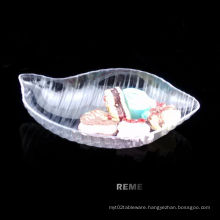 Plastic Dish Disposable Saucer Conch Shaped Dish